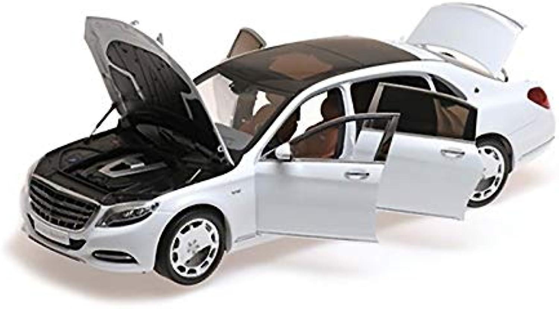 preferente Almost Real 820101 - Mercedes Benz S-Class S-Class S-Class Maybach 2016 Diamond blanco - Escala 1 18 - Vehiculo en Miniatura - diecast  precios ultra bajos