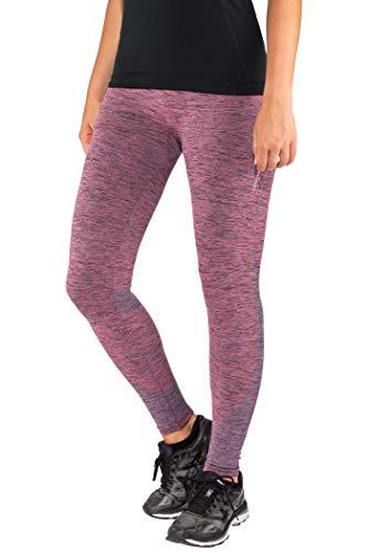 Kidneykaren Damen Yoga Pant-Pink Patrole, m