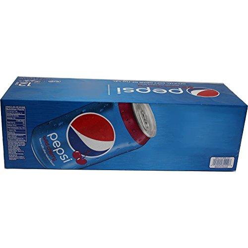 Pepsi Cola Wild Cherry 12 x 0,355l Dose (US Import)