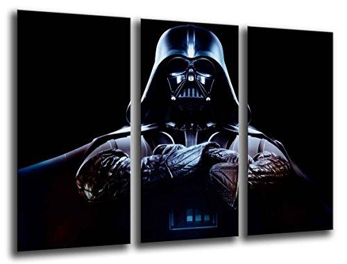 Tableau Photo Star Wars Dark Vader Dimensions totales : 97 x 62 cm XXL