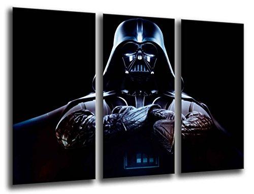 Wandbild - Star Wars, Darth Vader, 97 x 62 cm, Holzdruck - XXL Format - Kunstdruck, ref.26022