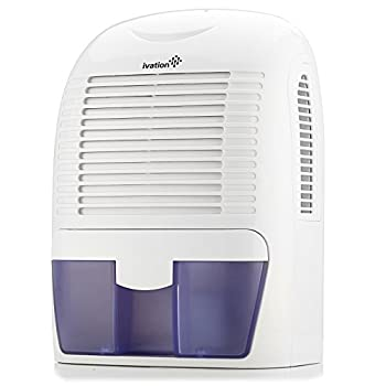 Ivation GDM30 Powerful Mid-Size Thermo-Electric Dehumidifier - Quietly Gathers Up to 20oz of Water per Day - for Spaces Up to 2,200 Cubic Feet