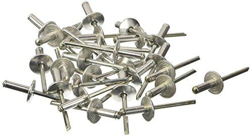Blinky 5015060Remaches aluminio, cabeza ancha, 500unidades)