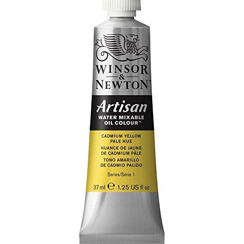 Winsor & Newton Artisan Tubo óleo miscible en Agua, 37 ml, Tono Amarillo de cadmio pálido