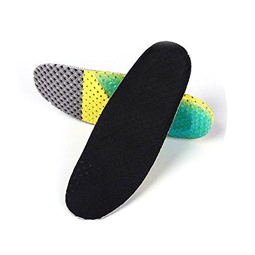 Boowhol Semelles Orthopédiques Sport, Semelles de Sport d'été - Idéal pour les sports d'impact ou l'utilisation quotidienne (41 - 46)