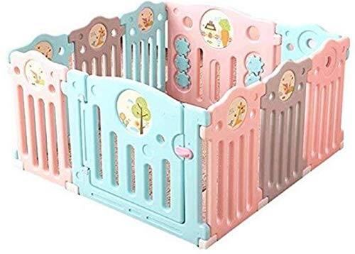 Baby Playpen Activity Center for Kids 8 + 2 Color Safety Board Playground Home Indoor Outdoor New Pen Safety