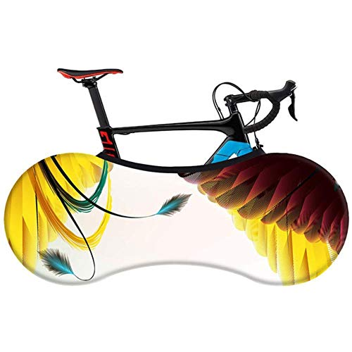 YRDDJQ Serie de Plumas de Moda Cubierta de Bicicleta Cubierta de Polvo Interior Elástica de Alta Resistencia para Bicicleta de Carretera 26 28 Pulgadas MTB