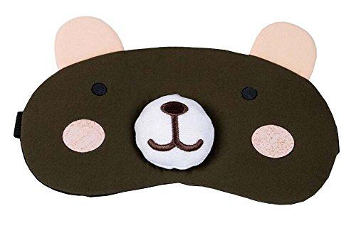 Cute Bear Design masque de sommeil masque d'oeil