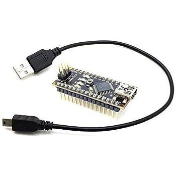 a000005 Arduino Nano v3.0 5v sviluppo Board con Atmel AVR ATmega 328 16mhz