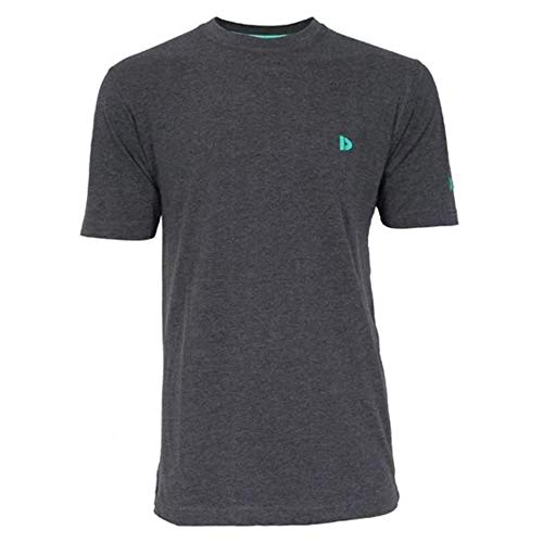 Donnay Essential - Camiseta Lineal, Gris Oscuro, XX-Large
