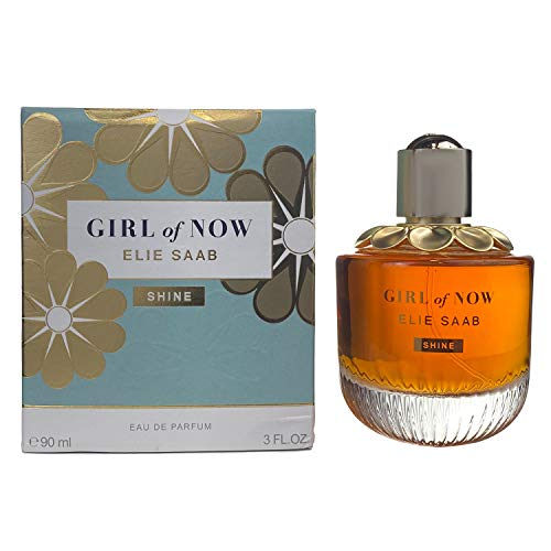 Elie Saab Girl of Now Shine femme/woman Eau de Parfum, 90 ml