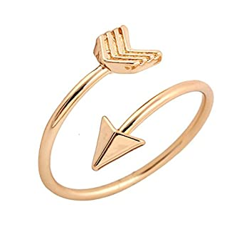 Best gold arrow ring Reviews