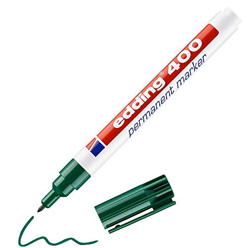 Edding 400 Permanent-Marker grün 1mm Rundspitze