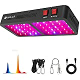 WILLS Newest 600W LED Plant Grow Light, Full Spectrum Dual-Chip Growing Lamp with Adjustable Rope and Daisy Chain for Indoor Plants Veg and Flower - 600W(60Pcs 10W LED)