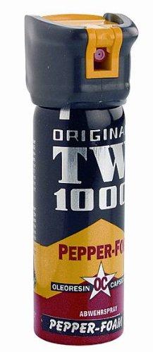 Pfefferschaum TW1000 63 ml zielgenaues Pfefferspray als Schaumspray