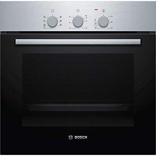 Bosch - Forno Elettrico da Incasso Serie 2 HBF031BR0 Capacità 66 L Multifunzione Ventilato Colore Acciaio Inox