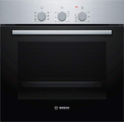 Bosch - Horno eléctrico empotrable Serie 2 HBF031BR0 Capacidad 66 L multifunción Ventilado Color Acero inoxidable