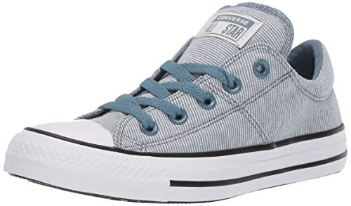Converse Damen Women's Chuck Taylor All Star Varsity Madison Low Top Sneaker Turnschuh, Celestial Teal White Black, 41 EU