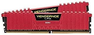 Corsair Vengeance LPX 16GB (2 x 8GB) DDR4 DRAM 3000MHz C15 Desktop Memory Kit - Red (CMK16GX4M2B3000C15R) (B013GZ5PD2) | Amazon price tracker / tracking, Amazon price history charts, Amazon price watches, Amazon price drop alerts