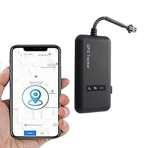 Tracker GPS per Auto, Mini Localizzatore GPS per Auto Posizione in Tempo Reale Tracker Locator di Auto Motociclismo Mini GSM GPRS SIM GPS con Allarme Geofence Antifurto Anti-furto