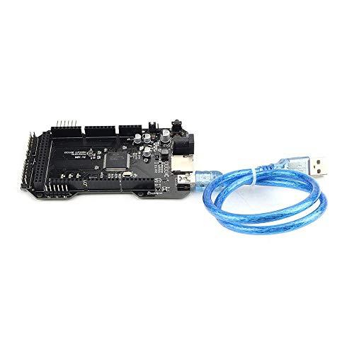 GzxLaY 3D-Drucker-Modul-Platine, geklont, verbessert, RE-ARM, 32 Bit, 3D-Drucker-Steuerung, Mainboard-Basis auf Mega 2560 R3 mit SD-Kartenslot für Ramps 1.4 1.5 1.6 Monitor