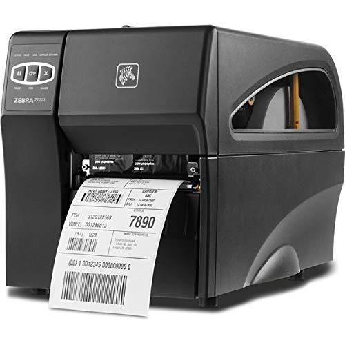 Zebra Zt22042-d0e000fz DT imprimante ZT220, 203dpi, Euro et anglaise, série, USB