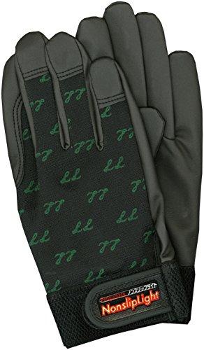 ペンギンエース ノンスリップライト手袋 PA-9104 黒 LLサイズ