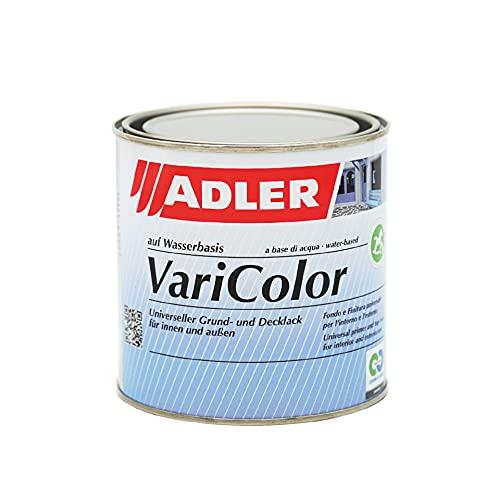 ADLER Varicolor 2in1 Acryl Buntlack für Innen und Außen - 750 ml Farblos Matt Farblos - Wetterfester Lack und Grundierung für Holz, Metall & Kunststoff