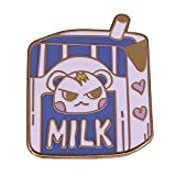 Broche Animal Crossing Marshal Lait Émail Pin Gamers Mignon Tea Party s Accessoire
