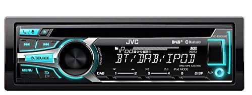 JVC KD-DB95BTE USB/CD-Receiver mit DAB Tuner, Front-AUX und Bluetooth schwarz