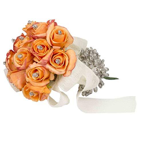 Ramo Artesanal Floral Decorativo de Novia para Alfileres