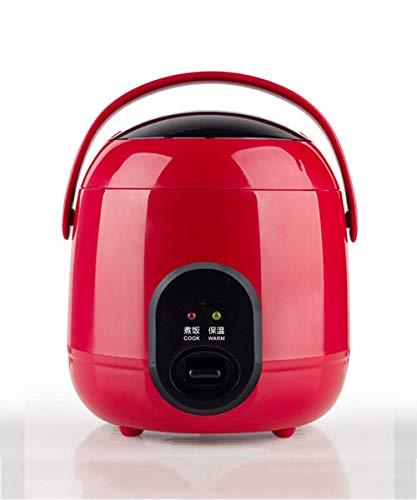 Rice Cooker Elektrische Mini Multi-Function rijstkoker Lunch Box warme gerechten Behoud van de hitte Verwarming Eten Verwarming Pot 1.2L 220V, D AQUILA1125 (Color : A)