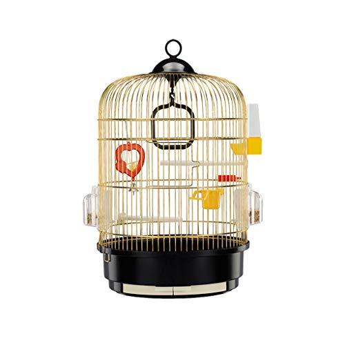 NYKK Grande Pajarera/Jaula Pájaros Jaula de Loros de Gran tamaño Acero Inoxidable...
