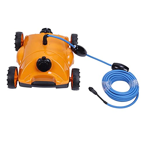 WFBD-CN Limpiadores de la Piscina Soplador de baño Kit de Limpieza de Piscina robótica bajo el Agua Máquina de Limpieza de aspiración automática de vacío Neumáticos Duros Piscina Solar Skimmer