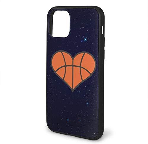 para iPhone 11 Pro MAX teléfono Celular Casos corazón del Baloncesto protección Completa del Cuerpo a Prueba de Golpes Caso de la Cubierta de protección Gota para el teléfono