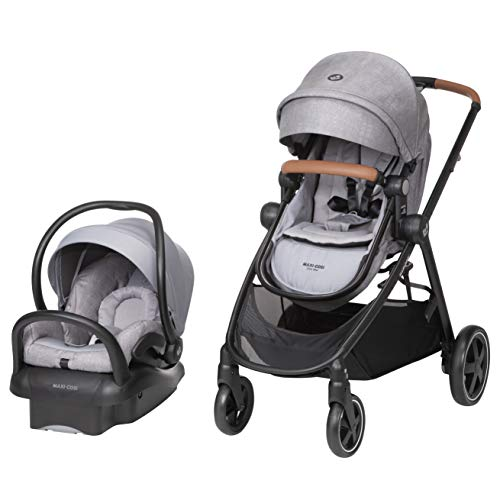 Maxi-Cosi Zelia Max 5-in-1 Modular Travel System, Nomad Grey, One...