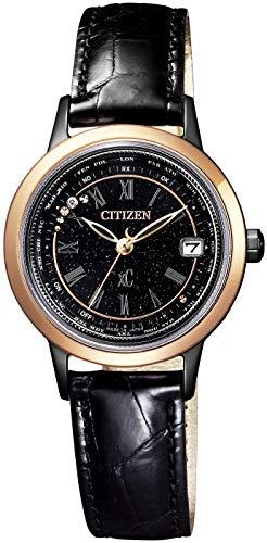 [シチズン] 腕時計 クロスシー エコ・ドライブ 電波時計 ティタニアライン ハッピーフライト 100周年記念限定モデル EC1144-26E レディース