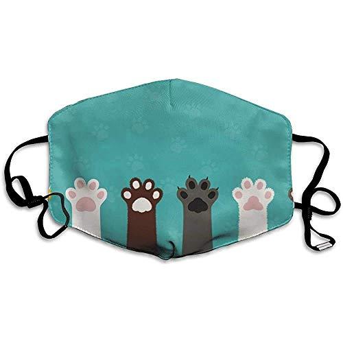 Mundschutz Lustige Abdeckung Katze Katze Klaue gedruckt Liebe Familie Mund Abdeckung süße Form