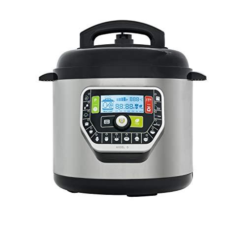 Cecotec Olla GM Programable Modelo G Deluxe. Robot de Cocina multifunción, Capacidad de 6 litros (hasta 12 raciones),Navegador GMDrive, Cubeta Excelsior