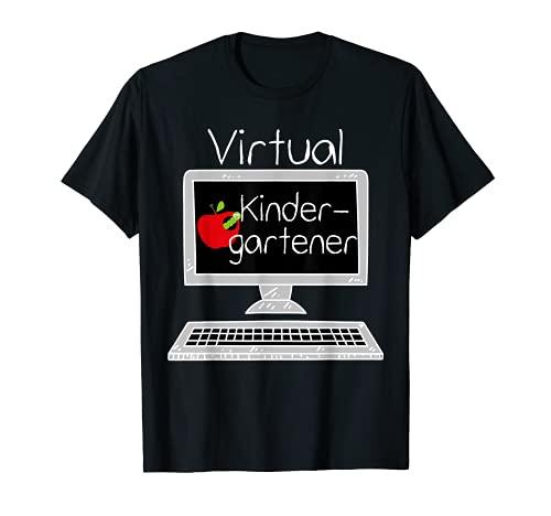 Jardín de infancia virtual - Aprendizaje a distancia Regreso a la Camiseta