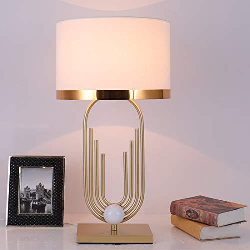 Tisch- oder Nachttischlampen Postmoderne Schreibtischlampe aus Metall, Kreative Stehlampe mit Warmem und Einfachem Charakter, 70 cm Höhe
