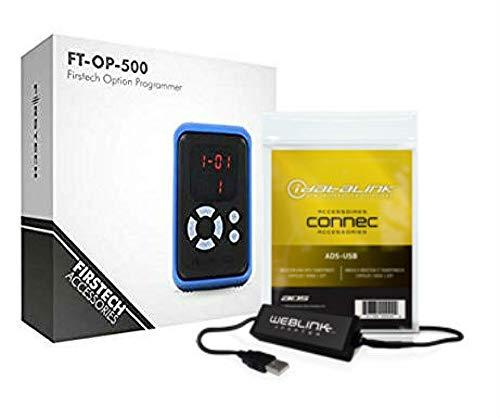 Firstech Option Programmer OP500 Interface Compustar Programming Device w/ADS USB Weblink USB Interface Bundle