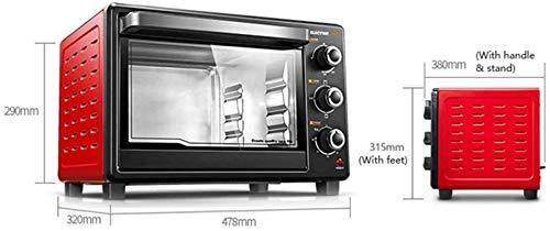 41hjsQqC3aL. SL500  - 30-Liter-Multifunktionsherd, Mini-Ofen-Funktionen, 1500W Leistung, leicht zu reinigendes Futter, Minute Timer, kann Pizza, Toast, Bagels, Pizza, gefrorene Snacks backen