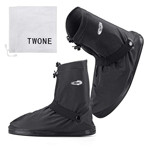 [TWONE] シューズカバー 防水 レインカバー 靴カバー レインブーツ 雨 雪 泥避 男の子 女の子 折りたたみ ...