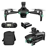 RC Quadcopter 360deg; obstacle avoidance, GPS Drone with 6K UHD Camera for Adults, GPS Drones with 3-axis Gimbal, EIS Anti-Shake, 5G FPV Live Video Brushless Motor, 1200m remote control distance Detaz