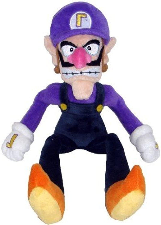 Little Buddy Super Mario Bros 11-Inch Waluigi Plush