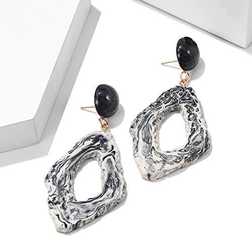 Burenqi Oorbellen mix kleur oorbellen van hars steen chic voor accessoires geschenk sieraden voor dames