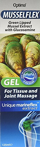Optima Musselflex GEL Green Lipped Mussel Extract with Glucosamine (PACK of 4)