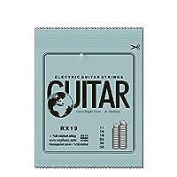 Wtbhd. オリジナルの包装で実用的なニッケルメッキ鋼のギターのエレクトリックギターの文字列のセット (Color : RX19)