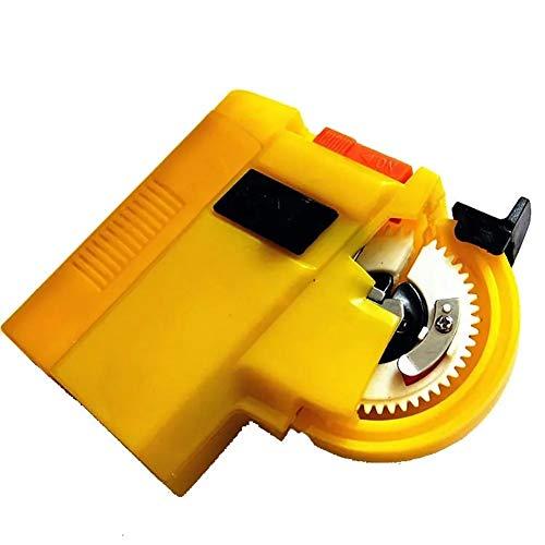 N\\A Angelhaken Geräte ABS gelbe elektrische Angelhaken Tier Automatische Binde Angelzubehör